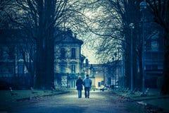 L'amore non conosce l'età Fotografie Stock