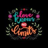 L'amore non conosce limiti royalty illustrazione gratis