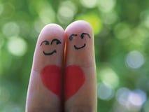 L'amore splende Immagini Stock