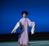"""L'amour aime le  blanc d'Opera""""Madame Snake†de coïncidences-Kunqu Photo libre de droits"""