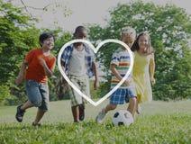 L'amour aiment la dévotion romantique Joy Life Concept d'affection de passion Image libre de droits