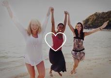 L'amour aiment la dévotion romantique Joy Life Concept d'affection de passion Photographie stock libre de droits