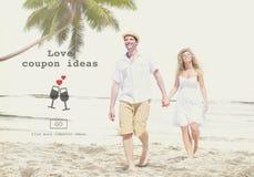 L'amour cite le concept Romance de site Web de valentines Image libre de droits