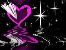 L'amour commence Image libre de droits