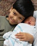 L'amour d'un frère Image stock