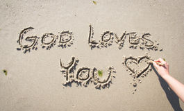 L'amour de Dieu Images stock