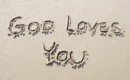 L'amour de Dieu Photographie stock libre de droits