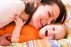 L'amour de mère Photographie stock libre de droits