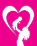 L'amour de mère 2 Image libre de droits