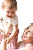 L'amour de mère Images libres de droits