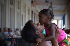 L'amour de mère Photographie stock