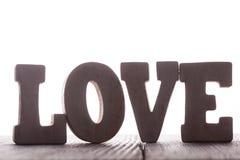 L'amour de mot Image stock