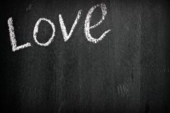 L'amour de mot Images libres de droits