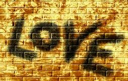 L'amour de mot illustration libre de droits