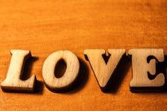 L'amour de mot Photos libres de droits