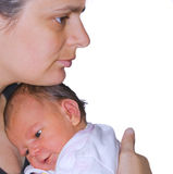 L'amour de mère Images stock