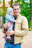 L'amour de père. Image libre de droits