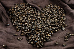 L'amour du café Images stock