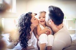 L'amour entre la famille est la plupart de belle chose Image libre de droits