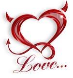 L'amour est… Photo stock
