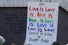 L'amour est amour Photographie stock libre de droits