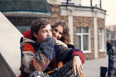 L'amour est bonheur Photos stock
