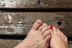 L'amour est contact Photographie stock libre de droits