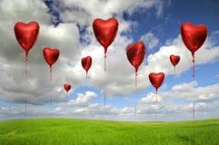 L'amour est dans le ciel Photo stock