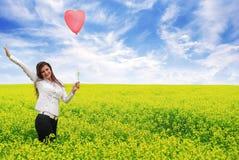 L'amour est dans le ciel 2 Image stock