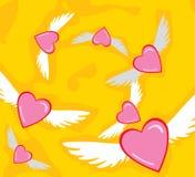 L'amour est dans le ciel Photos stock
