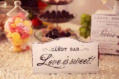 L'amour est doux Photo stock
