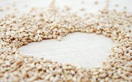 L'amour est (le blé) Photographie stock