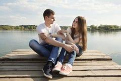 L'amour est magique Photo libre de droits