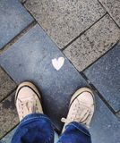 L'amour est tout autour Photographie stock libre de droits