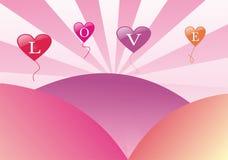 L'amour est tout que nous avons besoin Illustration Libre de Droits