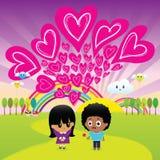 L'amour est tout que vous avez besoin Photo libre de droits