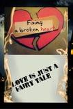 L'amour est un conte de fées Photographie stock libre de droits
