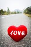 L'amour est un voyage Photos stock
