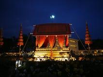 L'amour et la chaleur au ` s d'hiver finissent le festival au palais royal de Dusit de plaza, Bangkok Thaïlande Photos stock