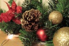 L'amour et la joie de Noël Photos stock