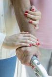 L'amour et le soin est le meilleur traitement Image libre de droits