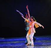L'amour ne peut pas se dégager -Le drame de danse la légende des héros de condor Photos stock