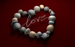 L'amour oscille votre coeur avec passion Images libres de droits