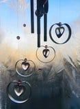L'amour pour l'hiver demeurera pour toujours à mon coeur images stock