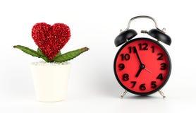 L'amour prennent le concept de temps Images libres de droits