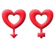L'amour verrouille l'image d'illustration de valentine Illustration Stock