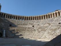 L'amphithéâtre d'Aspendos, Anatolie Photos stock
