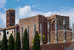 L'amphithéâtre de Colisé à Rome Italie photo libre de droits