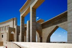 L'amphithéâtre de Katara, Doha, Qatar Photo stock