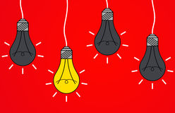 L'ampoule Image libre de droits